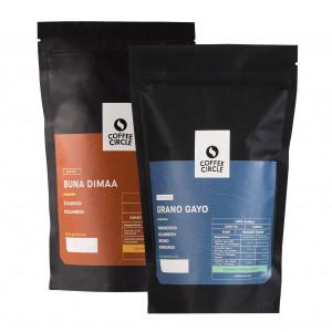 Kaffee und Espresso Vollautomaten Set
