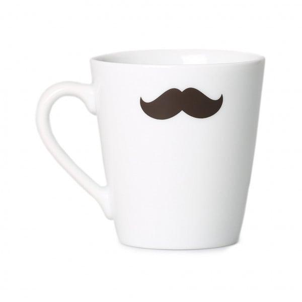 Filterkaffee-Tasse mit Schnurrbart