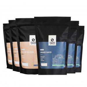 Büro-Paket: 6 kg Espresso für Siebträgermaschine