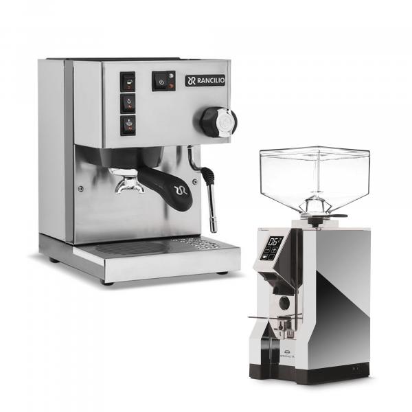 Rancilio Silvia + Espressomühle im Set