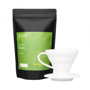 Kalita Wave Dripper & Kaffee im Set
