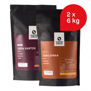 Büro-Paket: 12 kg Kaffee für Kaffee-Vollautomat